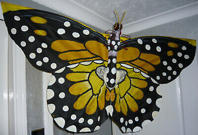 RARE! Extremely Large Vintage Swallowtail Butterfly Kite • 89.95£