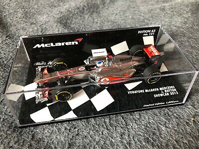 1/43 Minichamps F1 53012473 Jenson Button McLaren Mercedes Showcar 2012 #121 • 24.95£