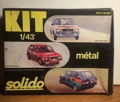 Kit Métal GOLF Ref 19K Solido 1/43 • 16.86£