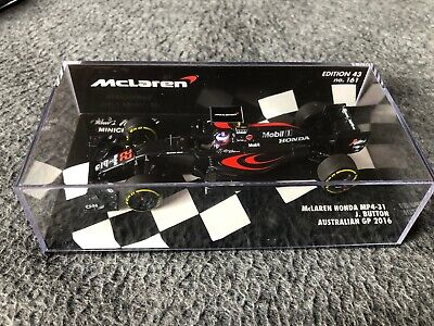1/43 Minichamps F1 530164322 Jenson Button McLaren Mercedes MP4-31 2016 #161 Aus • 54.95£