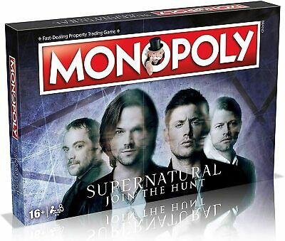 Supernatural - Join The Hunt Monopoly Board Game • 28.99£