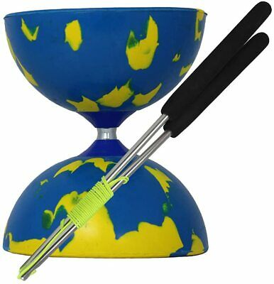 Juggle Dream Jester Diabolo & Ali Dream Starter Kit With DVD Blue & Yellow  • 17.99£