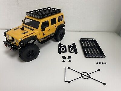 Roof Rack For Axial SCX24 Jeep Inc Roof Lights, Wing Mirrors & Rock Sliders • 19.95£