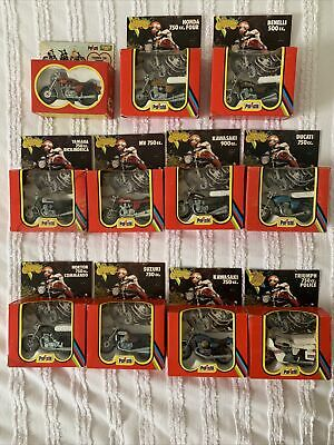 Polistil Motorcycle Collection 1976-1979 1:24 • 160£