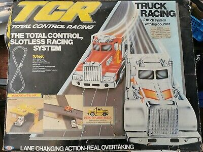 Vintage TCR Total Control Racing Lane Changers • 99£