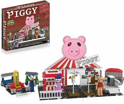 PIGGY Deluxe Carnival Construction Set With Exclusive DLC Roblox Action Figures • 47.97£