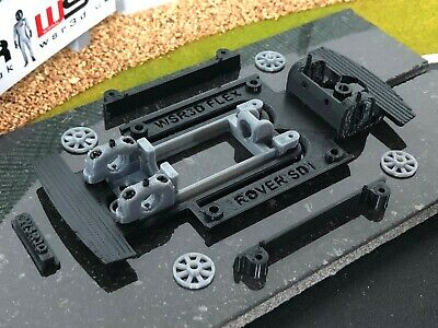 Scalextric Rover SD1 FX Flex CHASSIS & ADJUSTABLE MOTOR MOUNT POD KIT • 20.80£