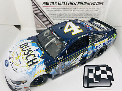 Nascar 1:24 Kevin Harvick Pocono Race Win Busch Head To The Mountains 2020 • 55£