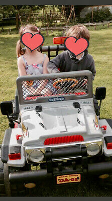 Peg Perego Gaucho 24v Two Seater Jeep - Silver Edition. Bury St Edmunds • 249£
