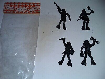 Plastic Frogmen/Divers X 4 In Packet French 1960's • 10£