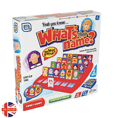 Whos Who? Guess Who Board Game Traditional Classic Kids Family Gift Toy • 7.99£