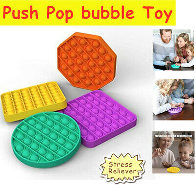 Push Pop Bubble Toy Stress Relief Autism Anxiety Relief Toy Fun Gift For Kids • 7.37£