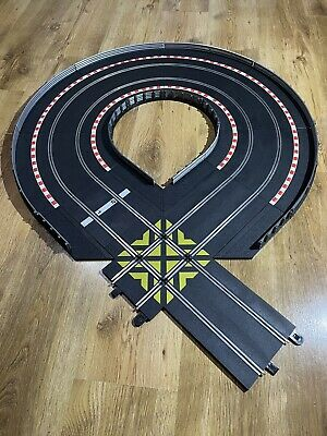 Scalextric Track Extension Bends Curves Borders Barriers Straight Crossover • 9.99£