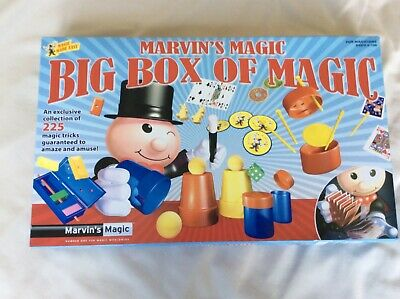 Marvin's Magic Big Box Of Magic. Opened But Unused. • 5£