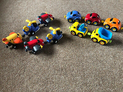 Bundle Of ELC MAGNETIC VEHICLES X10 Inc Cars, Planes, Helicopters & Trucks • 4.80£