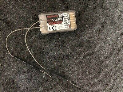 JR DMSS RG712BX 7 CHANNEL 2.4 GHz RECEIVER - BOXED • 15£