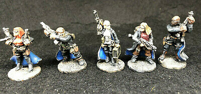 Wargames Foundry, Sci-Fi Street Violence Hardwire Troupe, Well Painted • 15£