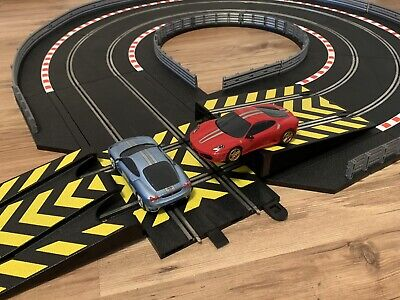 Scalextric Track Borders Barriers Crossover Road And Jump !  Track Extension • 17.50£