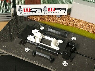 SCX Ford Escort Mk2 CHASSIS & SHORT-CAN MOTOR MOUNT POD • 18.80£