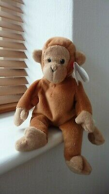 008421040674 Original Beanie Baby Bongo Monkey 17 August 1995 • 10.40£