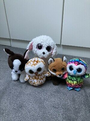 Ty Glitter Eyes Soft Toy Bundle • 3.50£