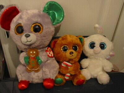 3 X Ty Beanie Boos Christmas Bundle  • 6.50£