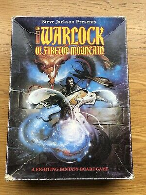 The Warlock Of Firetop Mountain The Boardgame - COMPLETE, OOP • 19£