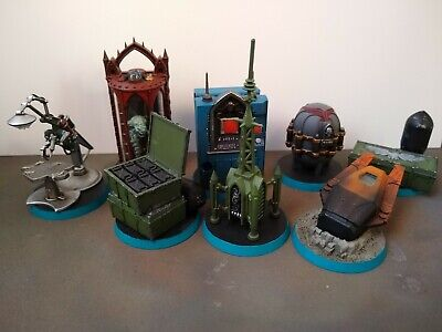 Warhammer 40k Sector Imperialis Objectives Painted Terrain Scenery Painted • 50£