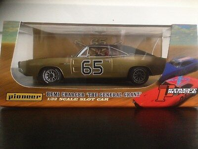 Pioneer Slot Car P098 General Grant Dodge Charger Gold Limited Edition 1 Of 112 • 10.50£