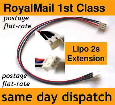 Lipo Balance Extension Charger Cable Lead 2s JST-XH (2 Cell, 7.4V) • 2.30£