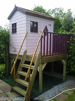 Treetops Treehouse Painted / Unpainted Playhouse  • 485£
