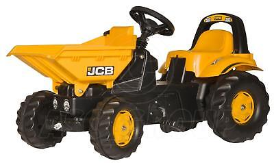 Rolly Toys -  JCB Ride On Pedal Dumper Truck With Tipping Bucket - Age 2 1/2 - 5 • 102.84£