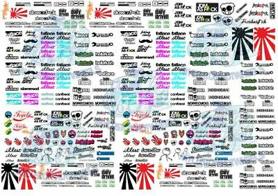 JDM Decal Pack 2 - Waterslide Decals For Hot Wheels & 1:64 Scale Diecast Cars • 7.76£