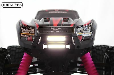 Front Double LED Light Bar For Traxxas X-MAXX 6S 8S Waterproof By Murat-rc • 23.90£