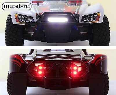 LED Lights Front/rear For RPM Bumpers Traxxas Slash 4x4 2WD Waterproof Murat-rc • 29.22£