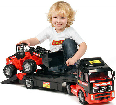 Toy Truck With Loader Tractor Play Car Set Large Car • 39.99£