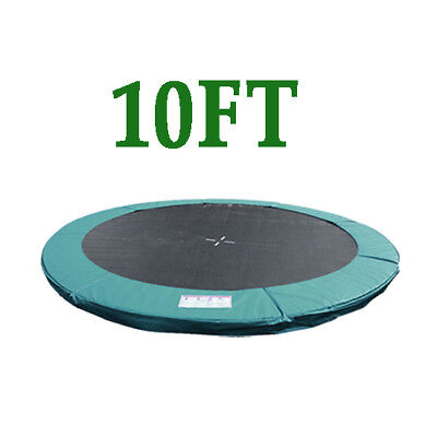 10FT Replacement Trampoline Safety Spring Cover Pad Surround Padding Green New • 39.99£