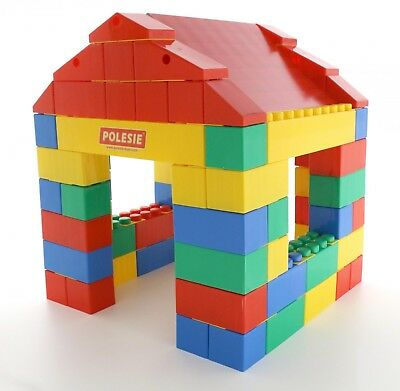 Large Building Bricks Blocks XXL Wader Large Construction (24-134 Pieces) • 131.99£