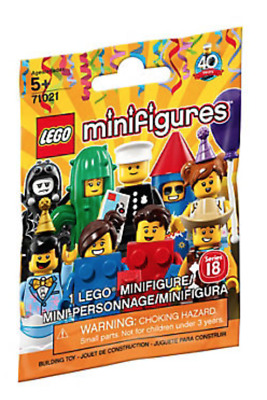 Lego Minifigures -  Series 18 Party  - Choose Your Minifigure - 71021 - NEW • 1.99£