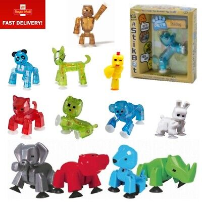 Boxed Stikbot Pets Stop Motion Animation Figures Choice Of Animal - Stickbot • 5.49£