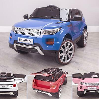 Evoque Style 12V Battery Electric Childrens Ride On Car With Remote • 159£