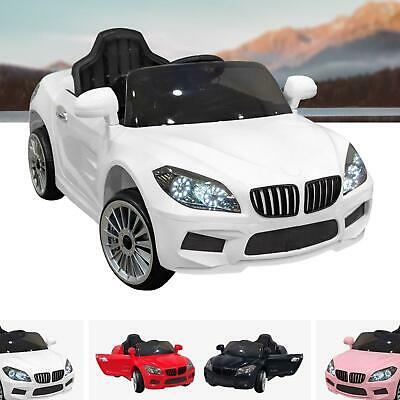 BMW Style Kids Ride On Car 12V Battery Electric Sports Car MP3 Parental Remote • 109£
