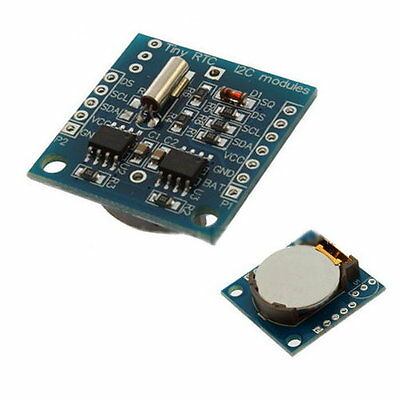 Arduino I2C RTC DS1307 AT24C32 Real Time Clock Module For AVR ARM PIC SMD #453  • 3.80£