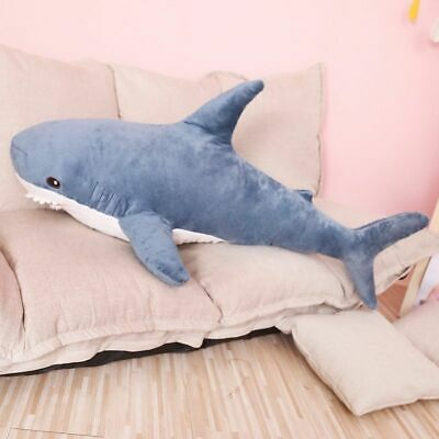 Plush Toy Pillow 80/100cm Big Size Soft Shark Appease Cushion Gift For Children  • 29.99£