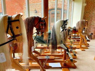 Stunning Vintage & Antique Rocking Horses *NEW HORSES ADDED*  - FREE DELIVERY • 2,750£