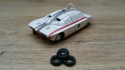 Dinky Toys 105 Captain Scarlet Maximum Security Vehicle Tyres Set Of 4 New.. • 3.95£