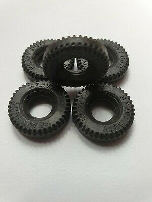 Dinky Toys 615 Willys U.S. Jeep Tyres Set Of 5 Brand New... • 5.95£