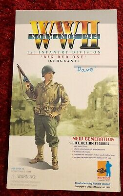 1st Infantry Division Sergeant Dave Us Soldier Action Figure  • 64.99£