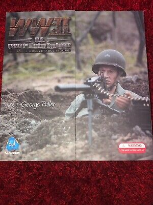 USMC 1st Marine Regiment George Puller Action Figure  • 109£