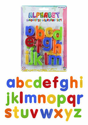 26 Magnetic Letters - Educational Fridge Magnets Alphabet Strong Baby School • 2.69£